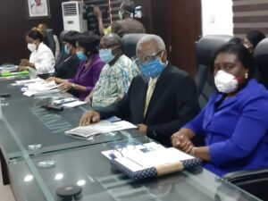 PAN President and PAN lead at the Ministry of Health stakeholders meeting on Pneumonia